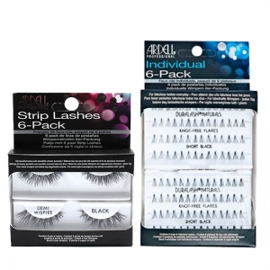6 packs strip lashes - runway sparkles