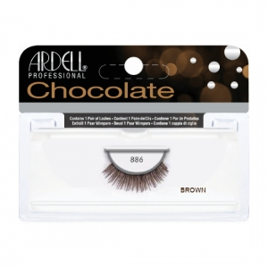 chocolate lashes #886 brown