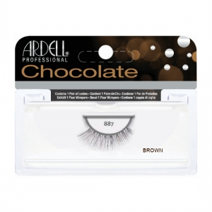 chocolate lashes #887 brown