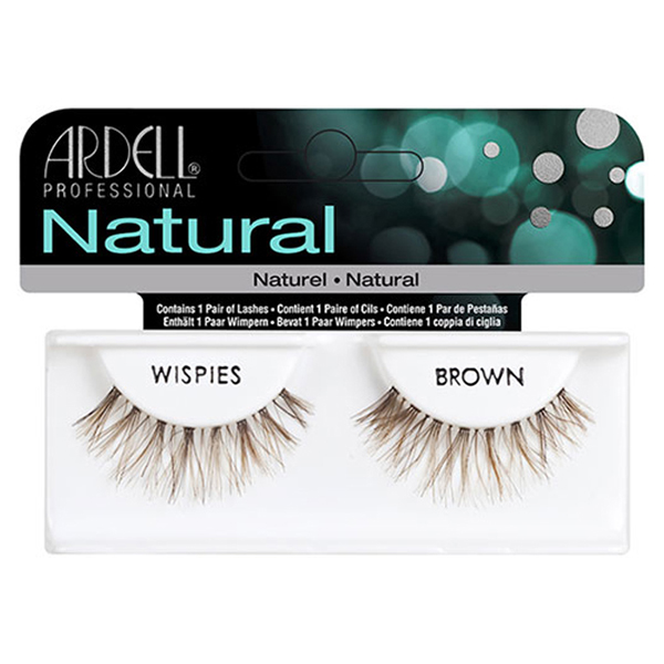 invisiband lashes wispies brown