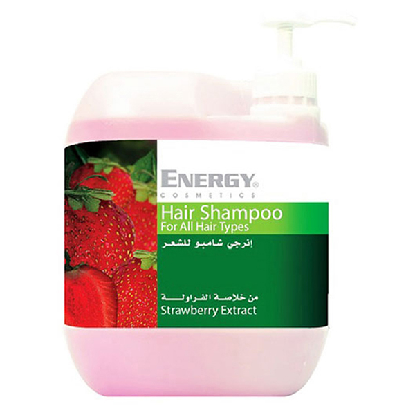 hair shampoo with strawberry extract -  5l