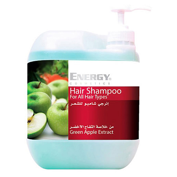 hair shampoo with green apple extract  -  5l