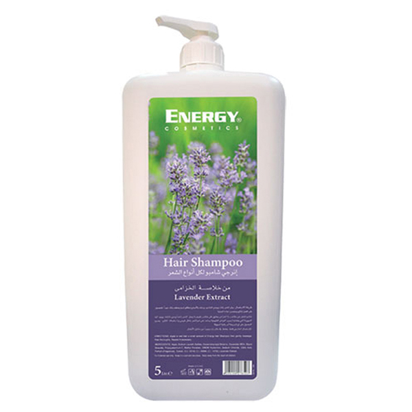 hair shampoo with lavender extract - 5l