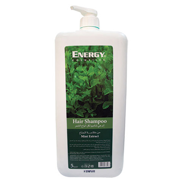 hair shampoo with mint extract - 5l
