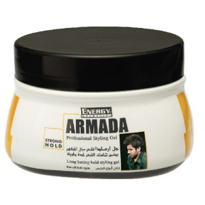 armada strong hold styling gel - 500 ml