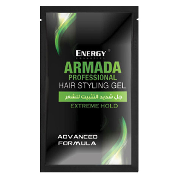 armada hair styling gel - extreme hold 15ml