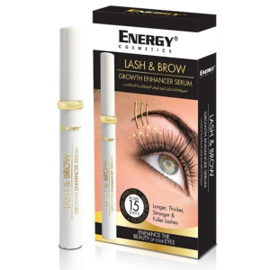 lash & brow growth enhancer serum