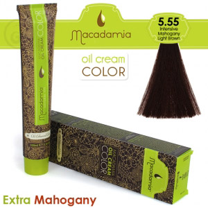 intensive mahogany light brown 5.55