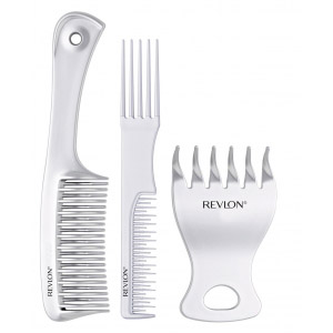 short hair styling combs - 3 pieces