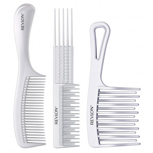 long hair styling combs - 3 pieces